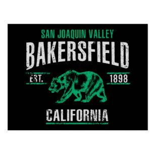 Carte Postale Bakersfield