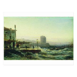 Carte Postale Bakou. Remblai par Alexey Bogolyubov