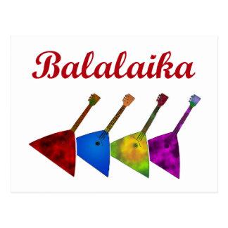 Carte Postale Balalaïka