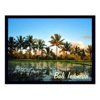 Carte Postale Bali Indonésie
