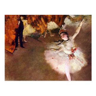 Carte Postale Ballerine de Prima, Rosita Mauri par Edgar Degas