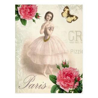 Carte Postale Ballerine parisienne