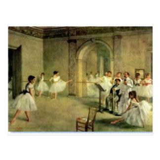 Carte Postale Ballerines par Edgar Degas