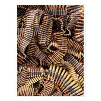 Carte Postale Balles, munitions