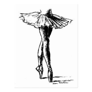 Carte Postale Ballet
