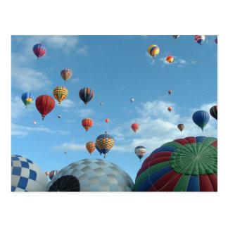 Carte Postale ballon