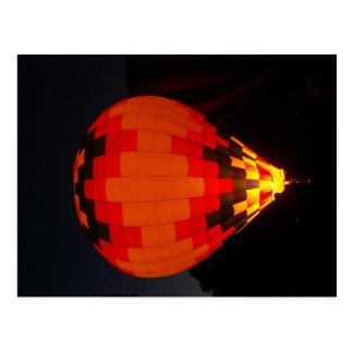 Carte Postale Ballon à air chaud