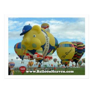 Carte Postale Ballon ABQ-419