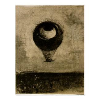 Carte Postale Ballon d'oeil