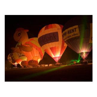 Carte Postale Ballon glow-1