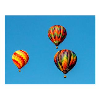 Carte Postale Ballons à air chauds