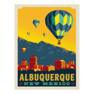 Carte Postale Ballons à air chauds d'Albuquerque, Nouveau