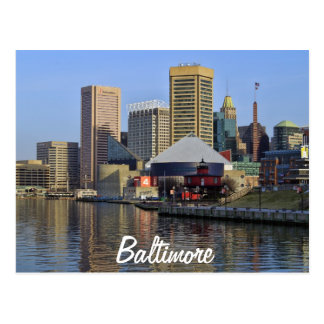 Carte Postale Baltimore
