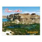 Carte Postale Bande Amir, Afghanistan