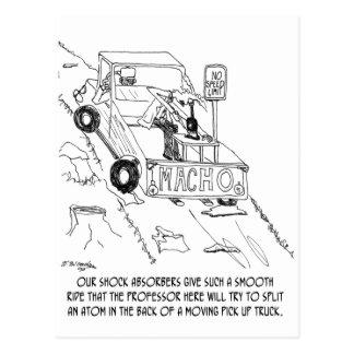 Carte Postale Bande dessinée 0040 de camion