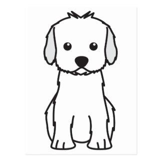 Carte Postale Bande dessinée de chien de Cockapoo