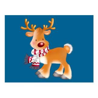 Carte Postale bande dessinée de Rudolph