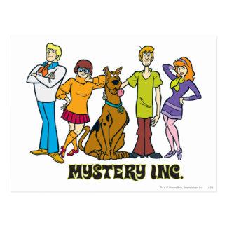 Carte Postale Bande entière 12 Mystery Inc