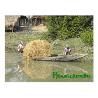 Carte Postale Bangladesh-bateau
