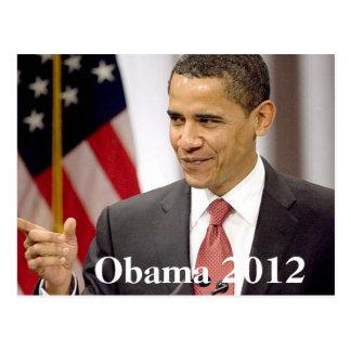 Carte Postale Barack Obama 2012