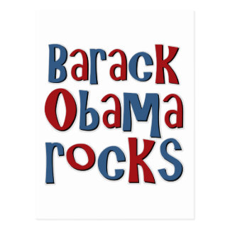 Carte Postale Barack Obama bascule le tee - shirt et les cadeaux