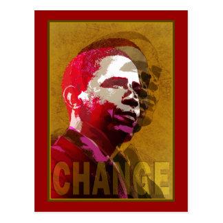 Carte Postale Barack Obama - direction