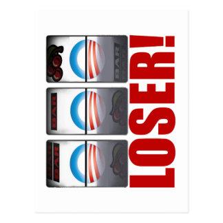 Carte Postale Barack Obama - perdant !