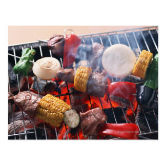 Carte Postale Barbecue