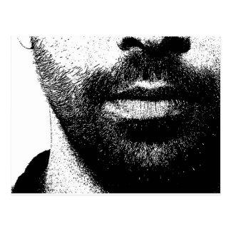 Carte Postale barbes