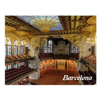 Carte Postale Barcelone, Espagne
