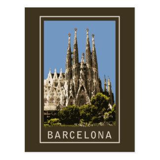 Carte Postale Barcelone Sagrada Familia