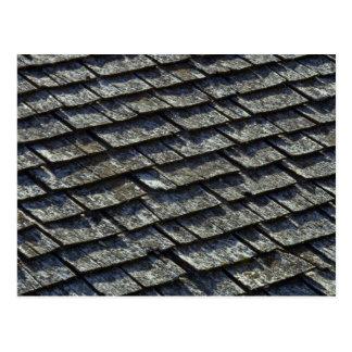 Carte Postale Bardeaux de toit