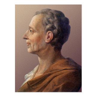 Carte Postale Baron de Montesquieu