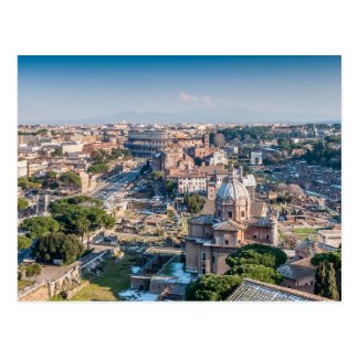 Carte postale baroque et antique de Rome