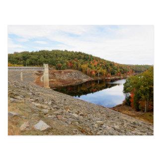 Carte Postale Barrage de ruisseau de loutre en automne