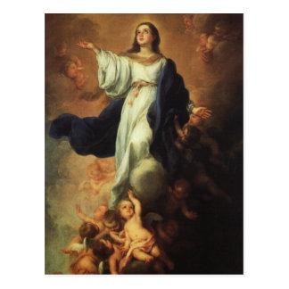 Carte Postale Bartolome Murillo - acceptation de la Vierge