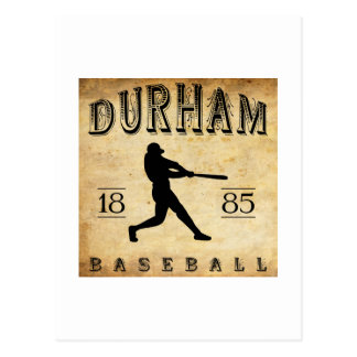 Carte Postale Base-ball 1885 de Durham la Caroline du Nord
