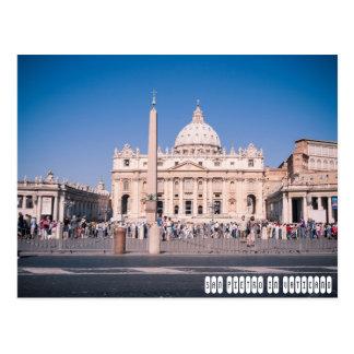 Carte Postale Basilique de San Pietro à Ville du Vatican