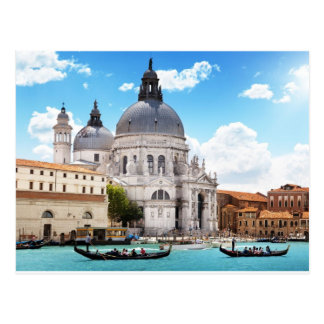 Carte Postale Basilique de Santa Maria à Venise, Italie