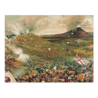 Carte Postale Bataille américaine de guerre civile de