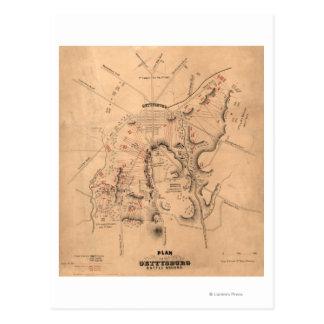 Carte Postale Bataille de Gettysburg 11