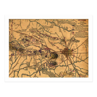 Carte Postale Bataille de Gettysburg 14
