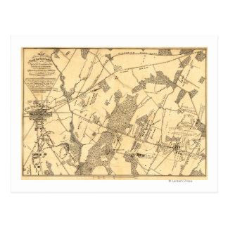 Carte Postale Bataille de Gettysburg 16