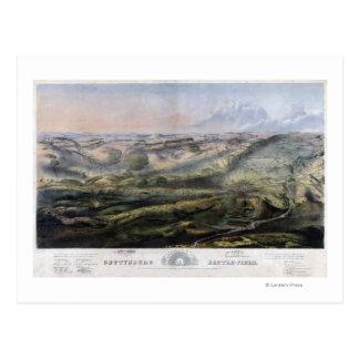 Carte Postale Bataille de Gettysburg 2