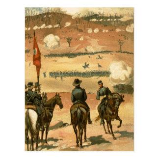 Carte Postale Bataille de guerre civile de Chattanooga