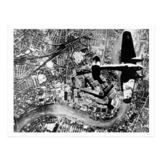 Carte Postale Bataille de la Grande-Bretagne et de l'attaque