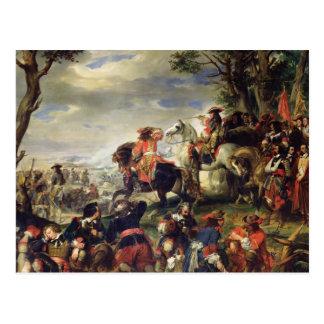 Carte Postale Bataille de Marseille, le 4 octobre 1693, 1837