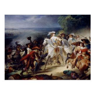 Carte Postale Bataille de Rocroy, le 19 mai 1643, 1834