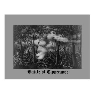 Carte Postale Bataille de Tippecanoe