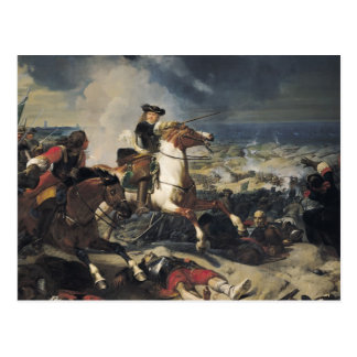 Carte Postale Bataille des dunes, le 14 juin 1658, 1837